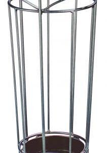 Haku-Möbel 88783 Garderobenständer 180 x 46 cm, anthrazit