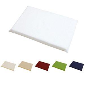 Hans-Textil-Shop Sitzkissen 37x23x3 cm Baumwolle Canvas