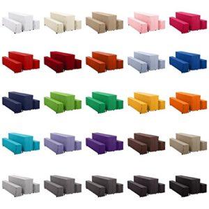 Hans-Textil-Shop Hussen-Set Polyester Bodenlang