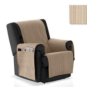JM Textil Sessel-Schoner Rino Größe 1 Sitzer (55cm), Farbe 01