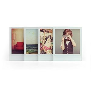 MUSTARD – Instant Coasters For Your Photos I Foto Untersetzer aus Glas I Dekoration I Foto Untersetzer für Gläser I besondere Geschenkidee I lustige Tischuntersetzer I Glas/Transparent – 4er-Set