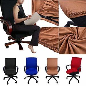 Office Computer Chair Cover Abdeckungen Abdeckung Armlehnen sitz Abdeckungen Dehnbar Rotierenden Sessel Cover Schonbezug…