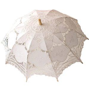 Pasabideak Hochzeit Lace Sonnenschirm Regenschirm Viktorianischen Dame Kostüm Zubehör Bridal Party Dekoration