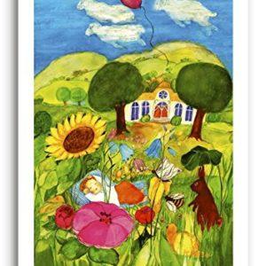 Poster fürs Kinderzimmer von Eva Maria Ott-Heidmann – Kleiner Traum vom schnurverlag