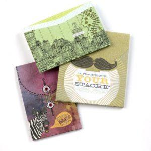 SMASH Buch Modernes Seitenfalte Taschen