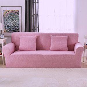 1 2 3 4 Sitzer Sofa Sofabezug Elastischer Sofaüberwurf Rutschfeste Stretch Hussen für Sofa, Polyester/Elasthan,mit…