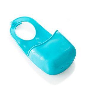 Scrox 1 Stücke Kreative Schwamm Aufbewahrungstasche Rack Ablaufkorb Druckknopf Typ Wc Seife Aufbewahrungstasche Küchenspüle Regaltasche für Küchenhelfer Zubehör Liefert