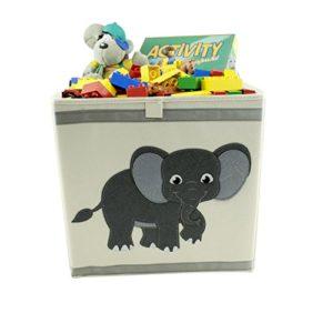 Spifi Aufbewahrungsbox Elefant/Verschiedene Motive/Hohe Qualität / 33x38x33 cm