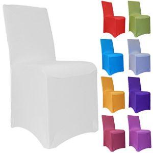 BeckBox Stuhlhusse Stretch bügelfrei, Stuhlbezug, Stuhlüberwurf, Universal viele Farben
