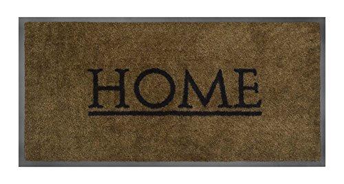 Teppichwunderland Schmutzfangmatte Emotion XS Home in 3 Farben 80 x 40 cm Türmatte Fußmatte