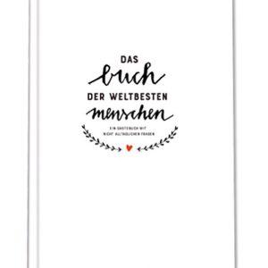 Witziges Gästebuch mit Fragen zum Ausfüllen, Freundebuch für Erwachsene, Hochzeitsgästebuch zum Schreiben & Malen…