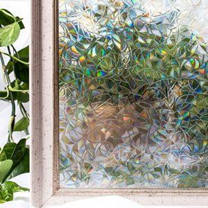 CottonColors Fensterfolie Sichtschutzfolie 3D Dekofolie statisch selbstklebend Anti UV milchglas Fensterfolien