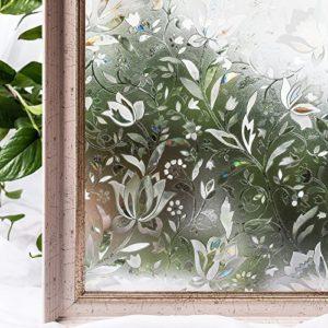cottoncolors Fensterfolie, Sichtschutzfolie, Glasdekorfolie, selbstklebend, Blickdicht, ohne Klebstoffe, 2ft x 6,5 ft. (60 x 200 cm), 3ft x 6,5 ft. (90 x 200 cm)