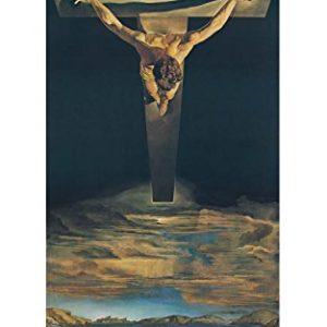 The Medici Society Limited Christus des Heiligen Johannes vom Kreuz, Salvador Dali, Kunstdruckkarton für Wasserfarben…