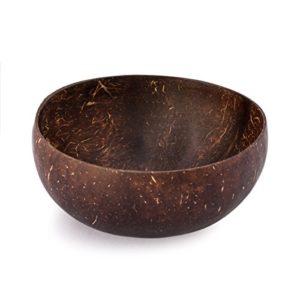 Kaloogo Original Cocobowl Nature – Natürliche Kokosnuss Schale – unpoliert