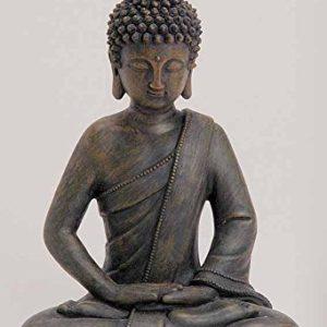 Deko Asien Garten Buddha Figur Statue Skulptur FENG Shui 27 cm Garten NEU