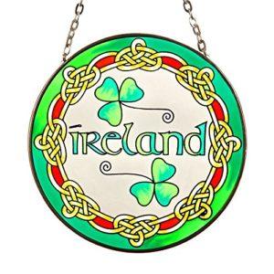Eburya Ireland – Keltisches Fensterbild aus Glas