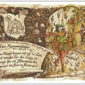 Geschenk Kammerjäger Schädlingsbekämpfer Präsent Zeichnung Color 30 x 21 cm