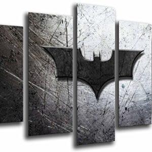 Wandbild – Batman, Der Joker, Superheld, 165 x 62 cm, Holzdruck – XXL Format – Kunstdruck, ref.26564