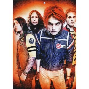 My Chemical Romance (24inch x 34inch / 60cm x 85cm) Silk Print Poster – Seide Plakat – 59BDE4