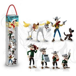 Plastoy SAS 70387 – Lucky Luke – Tube (7 Figuren)