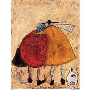 Sam Toft Kunstdrucke, Papier, Mehrfarbig, 40 x 50 cm