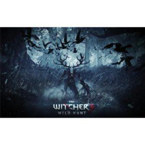 The Witcher 3 Wild Hunt (22inch x 14inch / 56cm x 35cm) Silk Print Poster – Seide Plakat – D4EBD9
