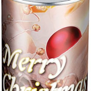 infactory Geschenkverpackung: Geschenkdose Merry Christmas: Originelle Präsent-Verpackung (Geschenkedose)