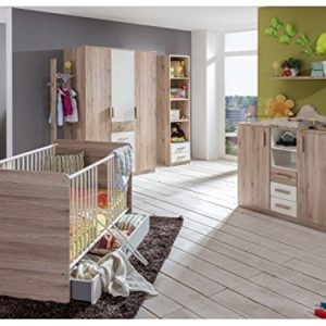 Babyzimmer Cariba 8tlg. Eiche San Remo