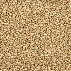 Dekogranulat / Dekosteine (2-3 mm), 1 kg, gold-metallic