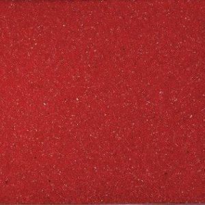 Farbsand, Dekosand farbig ca 0,5 mm. 1 KG in ROT -01