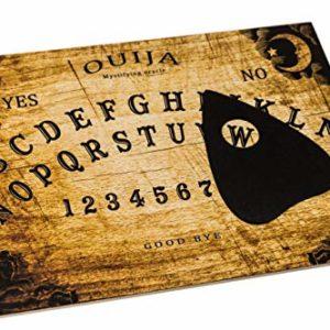 Wiccan Star Hölzernes Ouija Brett. Hexenbrett mit detaillierten anweisungen (in englisch). Ouija Board